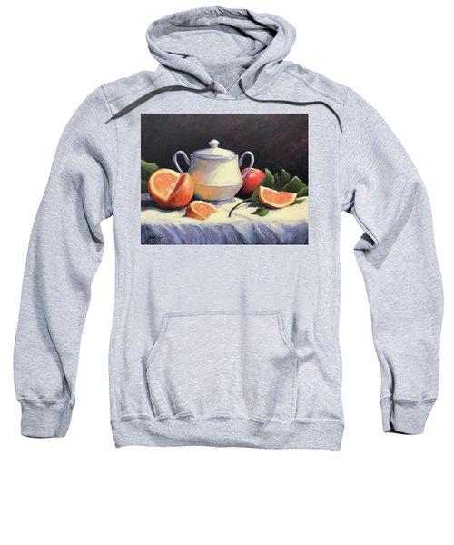 Still Life With Oranges Sweatshirt