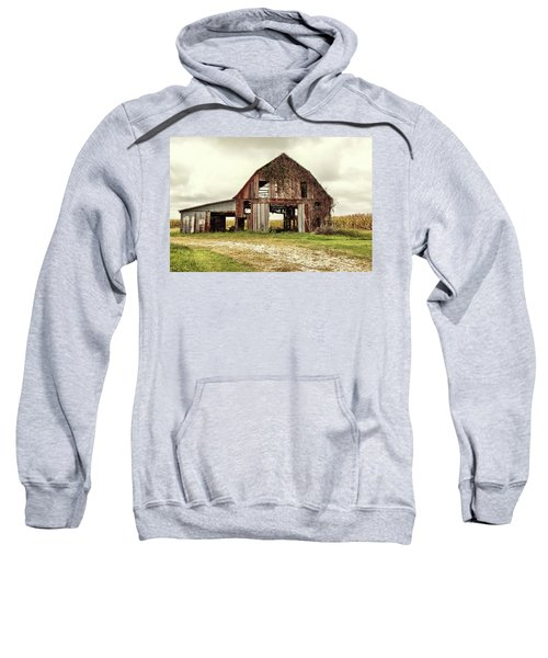 Still Standing Ohio Barn  Sweatshirt