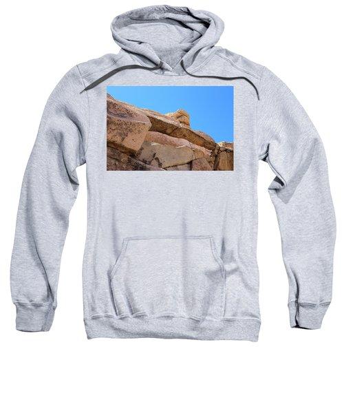 Stone  Arch In Joshua Tree Sweatshirt