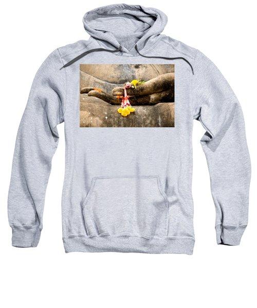 Stone Hand Of Buddha Sweatshirt