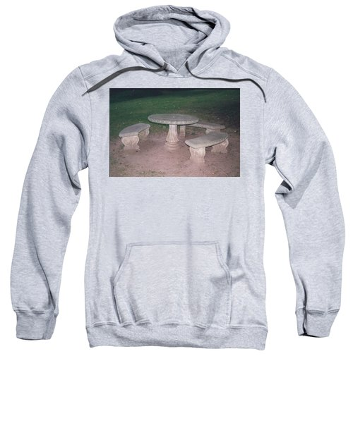 Stone Picnic Table And Benches Sweatshirt