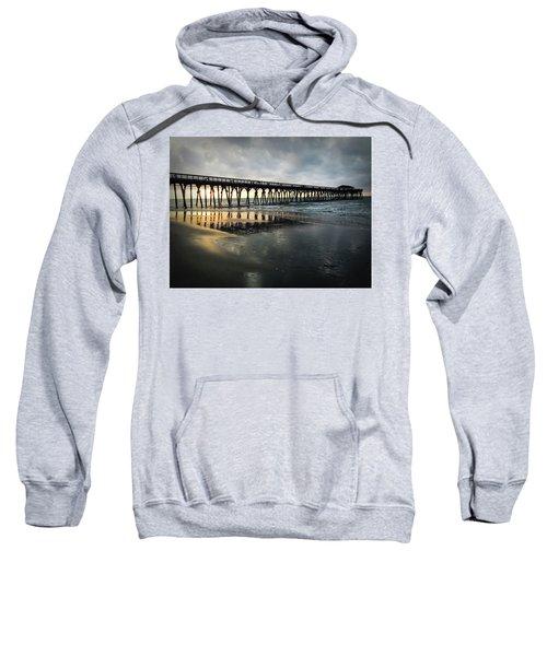 Storm At Sunrise In Color Sweatshirt