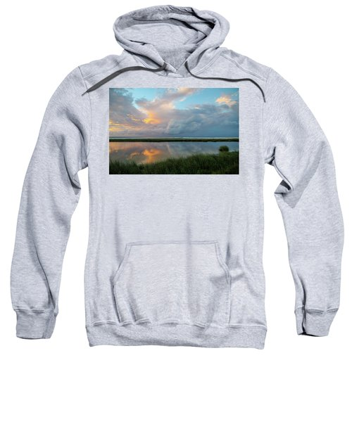 Storm Cloud Reflections At Sunset Sweatshirt