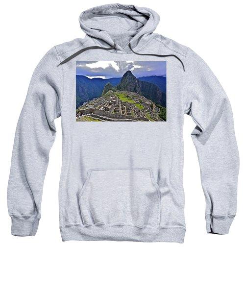 Storm Inbound To Machu Picchu Sweatshirt