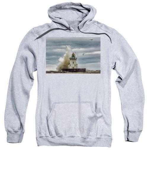 Storm On Lake Erie Sweatshirt