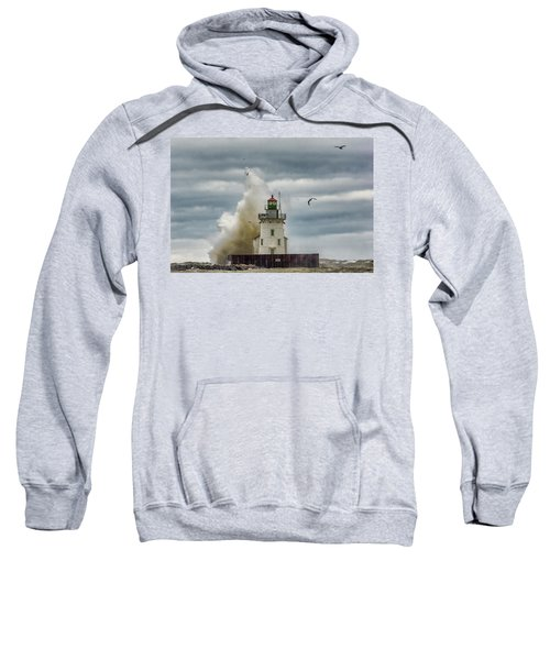 Storm On Lake Erie Sweatshirt