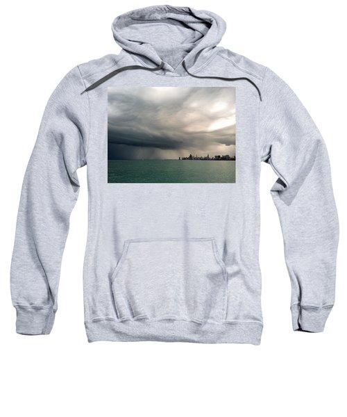 Storms Over Chicago Sweatshirt