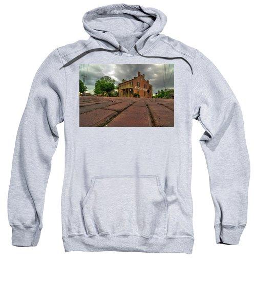 Stormy Morning On Main Street Sweatshirt