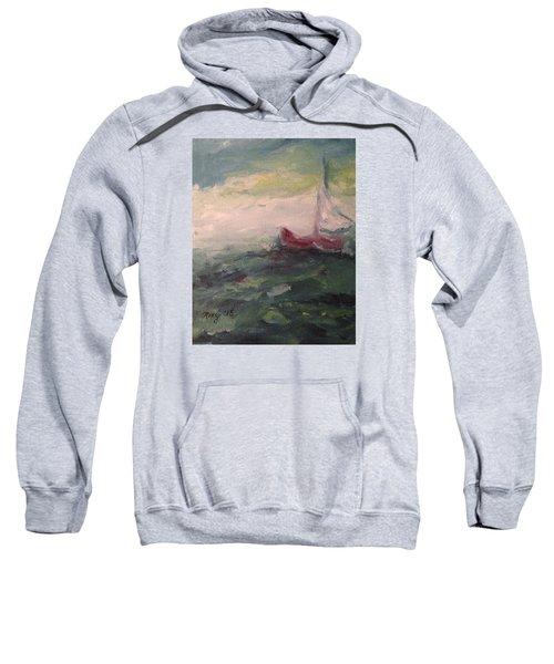 Stormy Sailboat Sweatshirt