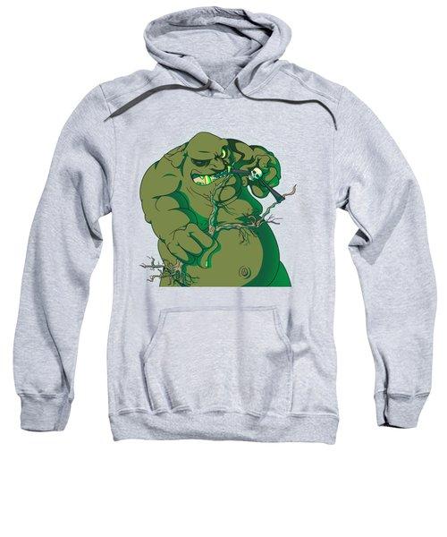 Storybook Ogre Shooting Heads Sweatshirt