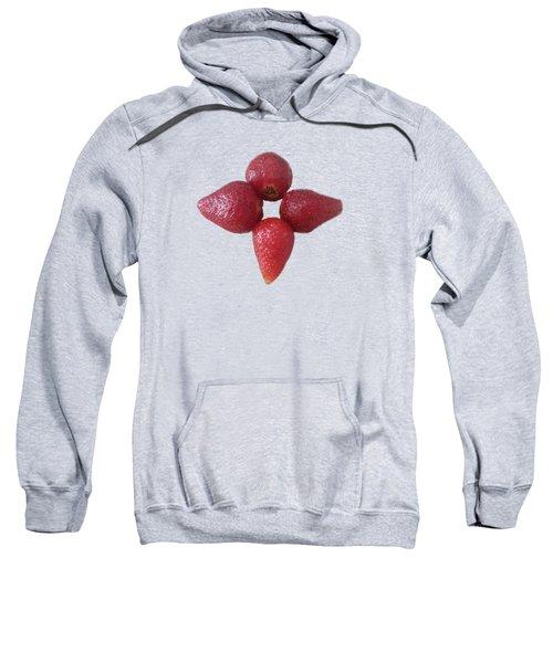 Strawberry Flower Sweatshirt by Sara Naqvi