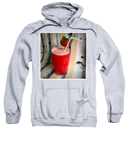 Strawberry Juice Sweatshirt by Kate V