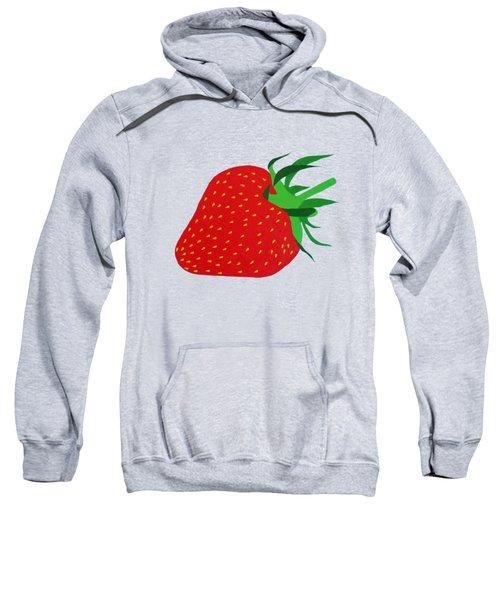 Strawberry Pop Remix Sweatshirt by Oliver Johnston