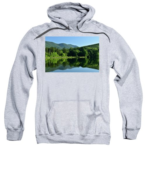 Streak Of Light At The Lake Sweatshirt