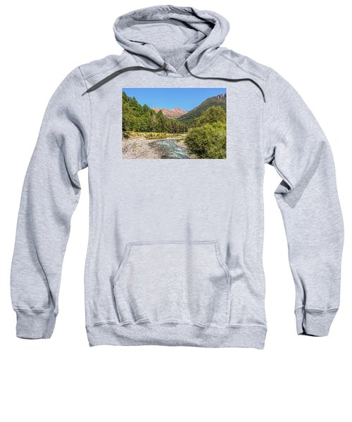 Streaming Through The Alps Sweatshirt