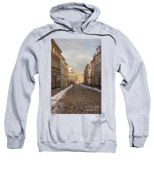 Street In Warsaw, Poland Sweatshirt