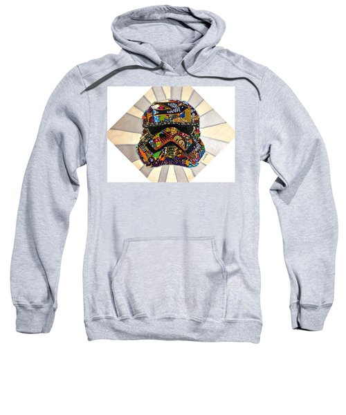 Strom Trooper Afrofuturist  Sweatshirt