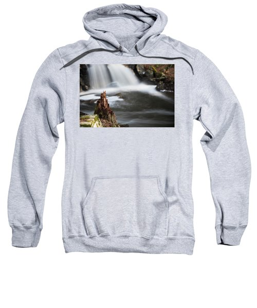 Stumped At The Secret Waterfall Sweatshirt