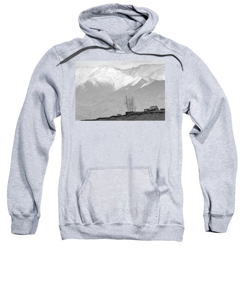 Stupa And Trees Sweatshirt