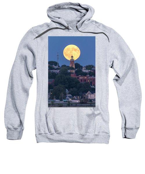 Sturgeon Moon Over Portland Observatory Sweatshirt