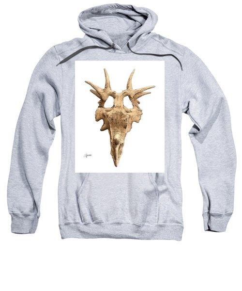 Styracosaur Skull Sweatshirt