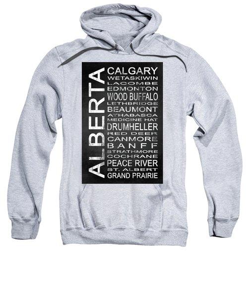 Subway Alberta Canada 1 Sweatshirt