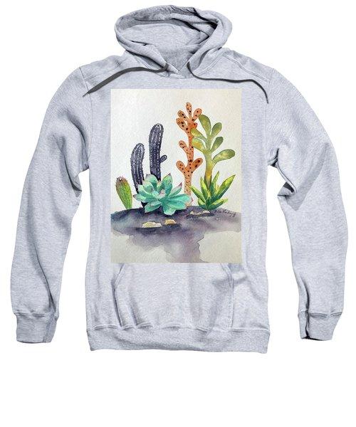 Succulents Desert Sweatshirt