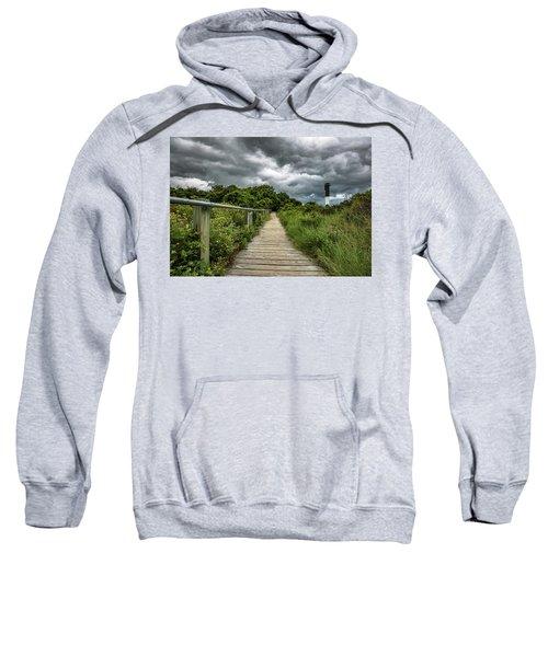 Sullivan's Island Summer Storm Clouds Sweatshirt