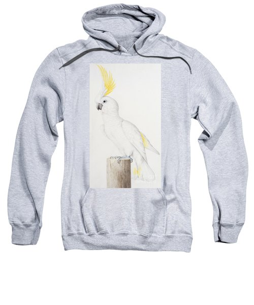 Sulphur Crested Cockatoo Sweatshirt by Nicolas Robert