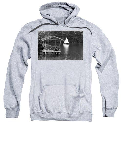Summer Camp Black And White 1 Sweatshirt