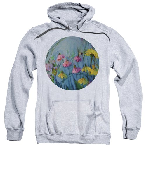 Summer Flower Garden Sweatshirt