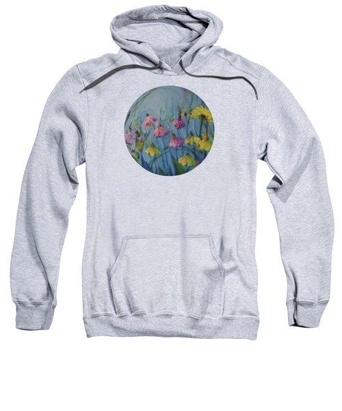 Summer Flower Garden Sweatshirt