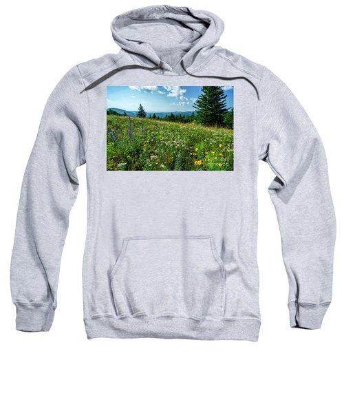 Summer Flowers In The Highlands Sweatshirt