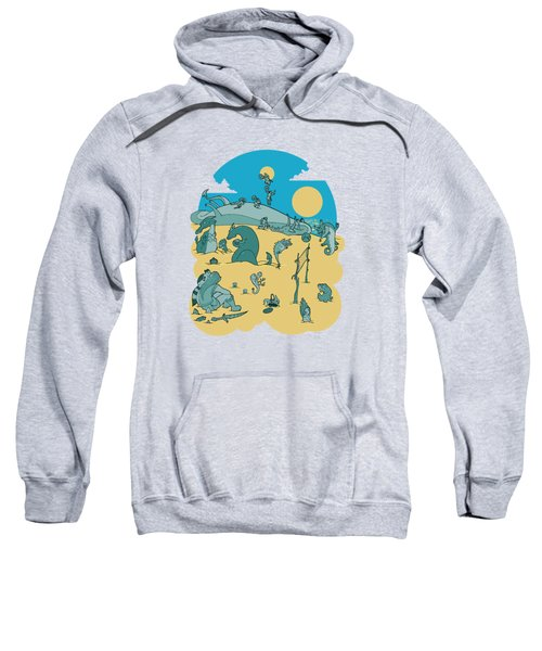 Summer Game On Vacation  Sweatshirt