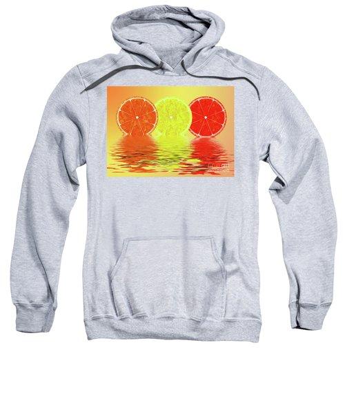 Orange,lemon,blood Orange Sweatshirt
