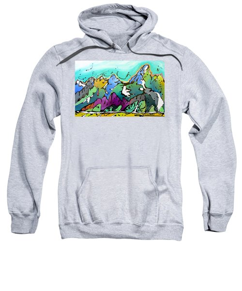 Summer Is Upon Us Sweatshirt