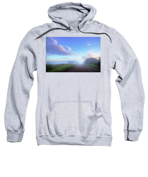 Summer Morning In Alberta Sweatshirt