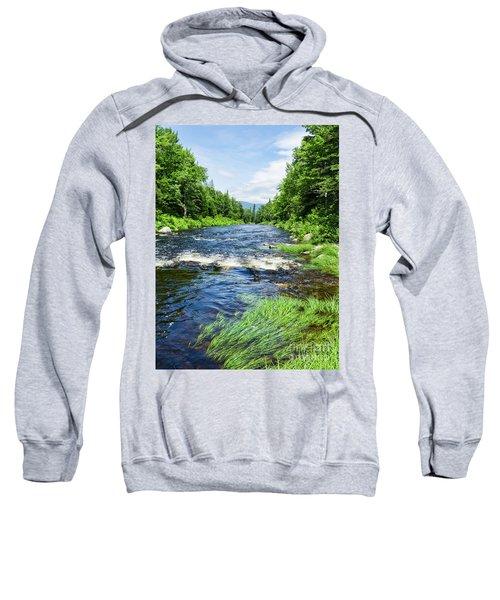 Summer Scene Rangeley Maine  -70742 Sweatshirt