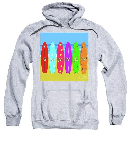 Summer Surf Sweatshirt