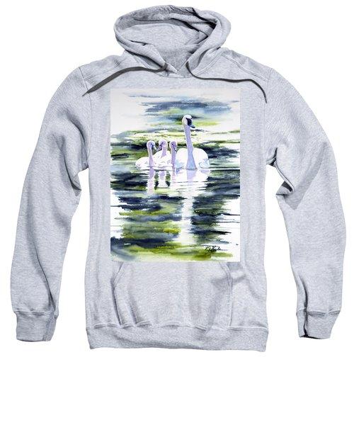 Summer Swans Sweatshirt