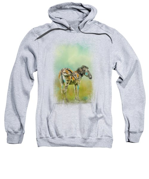 Summer Zebra 1 Sweatshirt