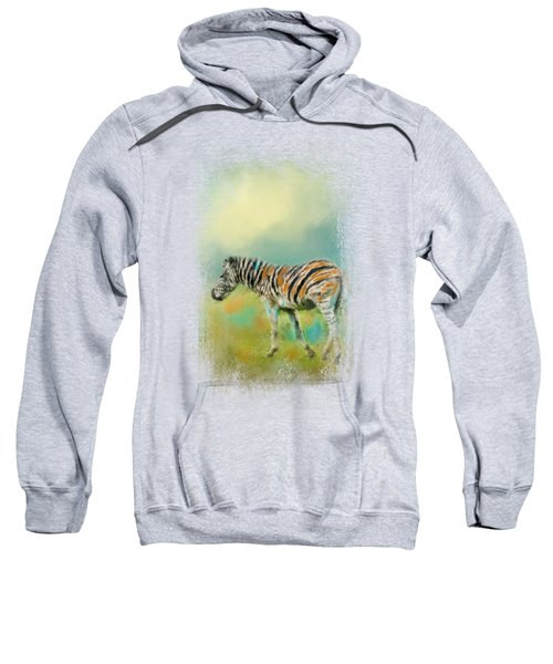 Summer Zebra 2 Sweatshirt