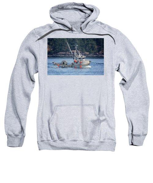 Sun Fisher Off Campbell River Sweatshirt
