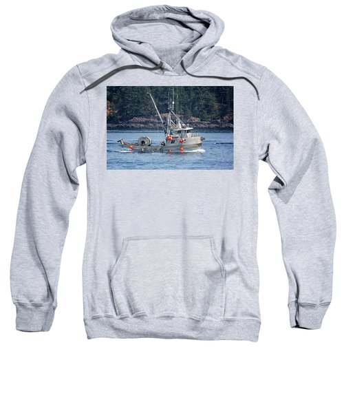 Sun Fisher Off Campbell River Sweatshirt