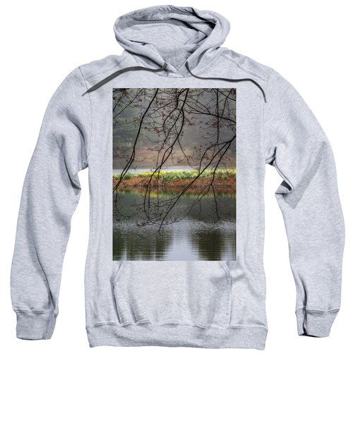 Sweatshirt featuring the photograph Sun Shower by Bill Wakeley