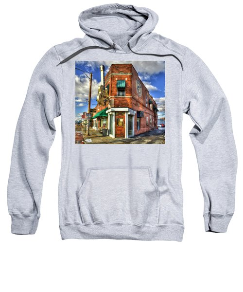 Sun Studio Rock N Roll Birthing Place Memphis Tennessee Art Sweatshirt