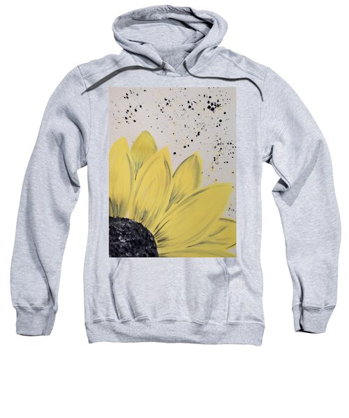 Sunflower Splatter Sweatshirt