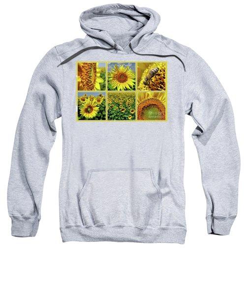 Sunflower Story - Collage Sweatshirt