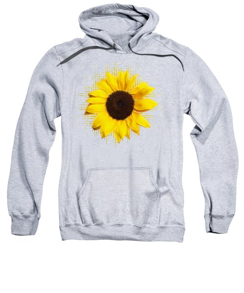 Sunflower Sunburst Sweatshirt by Gill Billington