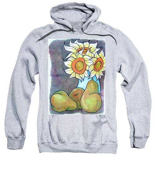 Sunflowers And Pears Sweatshirt